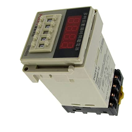 Aexit AC 220V Electrical 240V Digital Timer Time Delay Relay