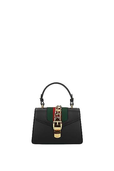 5493fce3e209 Gucci Sacs à main Femme - Cuir (470270D4ZAG)  Amazon.fr  Chaussures ...