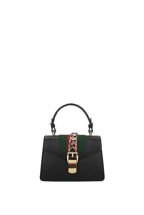 Gucci Bolsos de mano Mujer - Piel (470270D4ZAG): Amazon.es ...