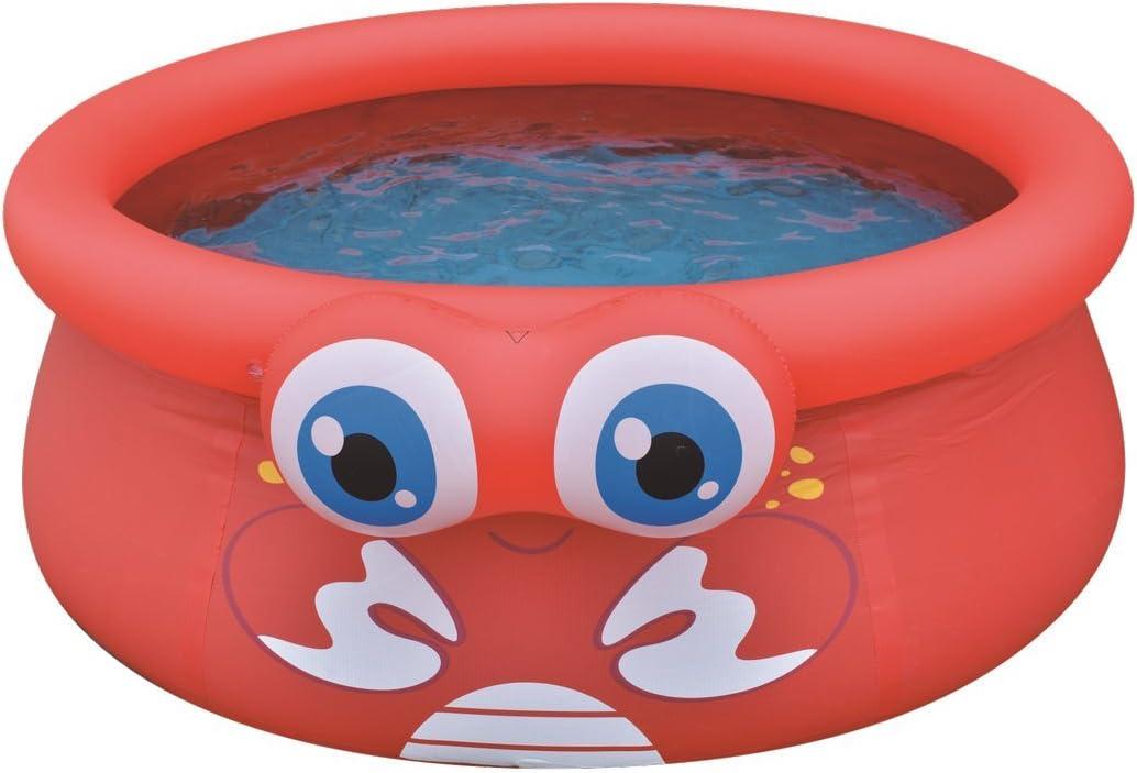 Green Children/´s Quick-up Pool with Fun 3D Frog Theme Jilong Frog Pool /ø175x62cm