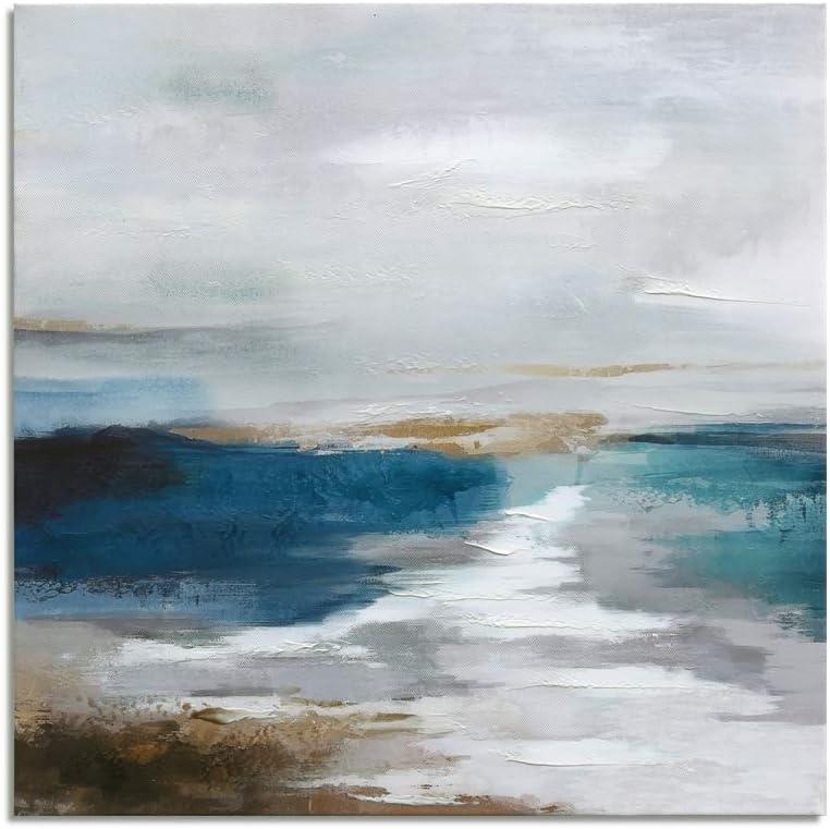 Blue Ocean Landscape Art