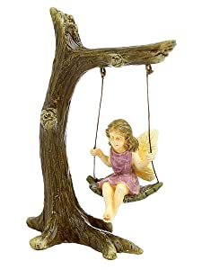 "Marshall Home and Garden ""Tree Swing"" Miniature Fairy Garden Accessory #MG12"