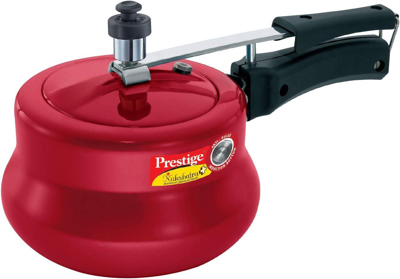 Prestige Nakshatra Pressure Cooker 3 Litre - Red