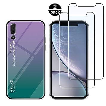 Funda para Huawei P20 Pro + [2 Pack] Protector Pantalla ...