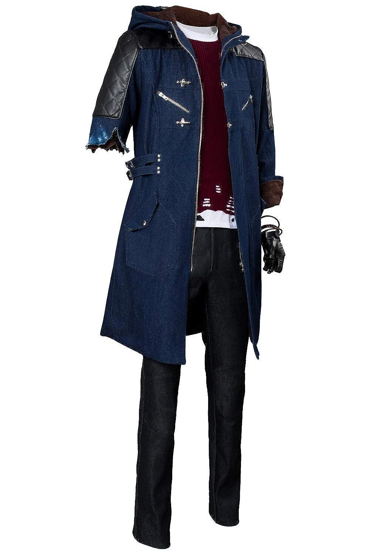 Version 4 Male M tianxinxishop Hommes Femmes Jeu Cosplay Costume Dante noir V Nico Cosplay Uniforme Multi Versions