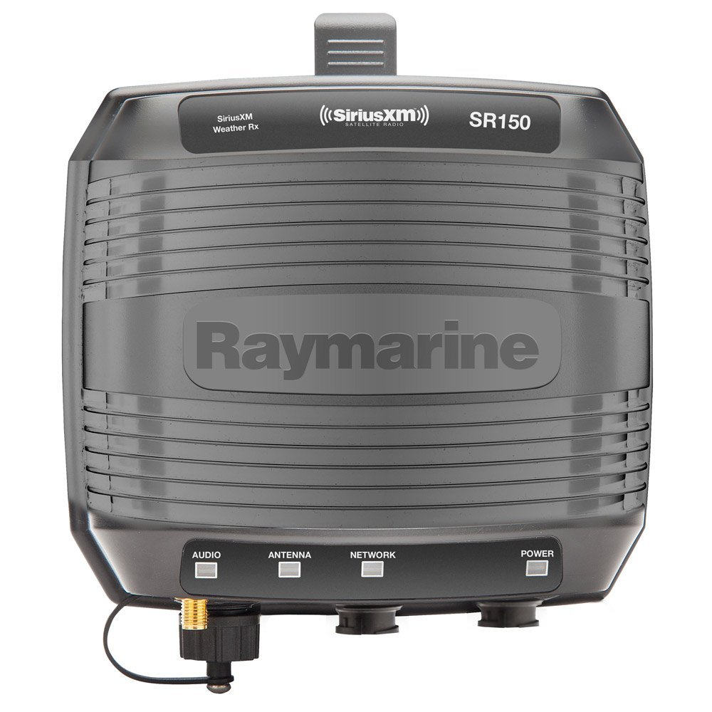 Raymarine SR150 SiriusXM Weather & Satellite Radio Receiver E70161