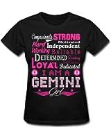 Gemini Girl Zodiac Strong Character Women's T-Shirt by Spreadshirt