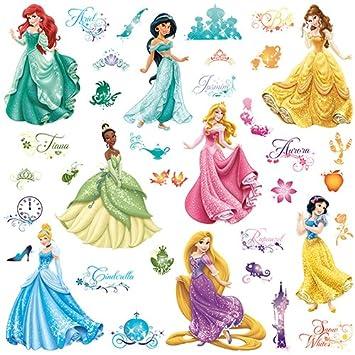 Roommates 21990 - Disney Prinzessinnen Wandtattoos/Sticker mit ...