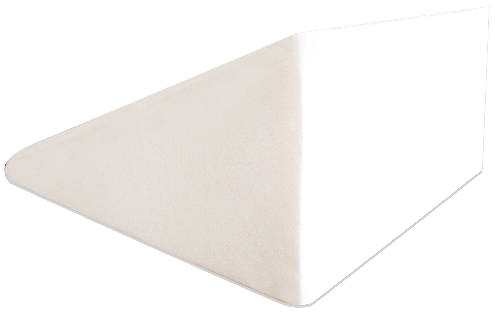 BalanceFrom Wedge Foam Wedge Bed Support Pillow with Memory Foam Top and Removable Cover (26'' x 25'' x 12'')