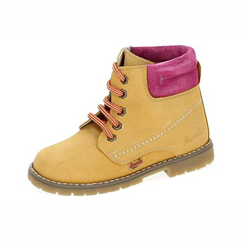 BAMBINELLI 1079122 BOTAS DE PIEL NIÑA BOTAS-BOTINES CAMEL 22: Amazon.es: Zapatos y complementos