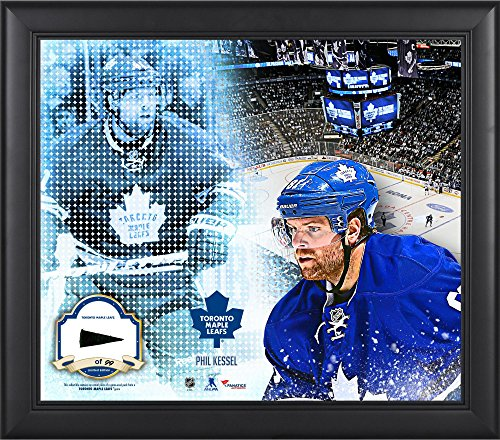 Mosaic Maple Leaf (Phil Kessel Toronto Maple Leafs Framed 15'' x 17'' Mosaic Collage with Piece Of Game-Used Puck-Limited Edition of 99 - Fanatics Authentic)