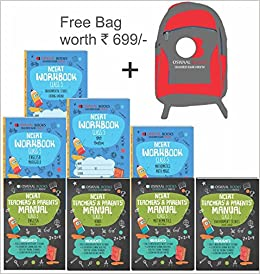 oswaal ncert workbook with teachers parents manual class 5 set of