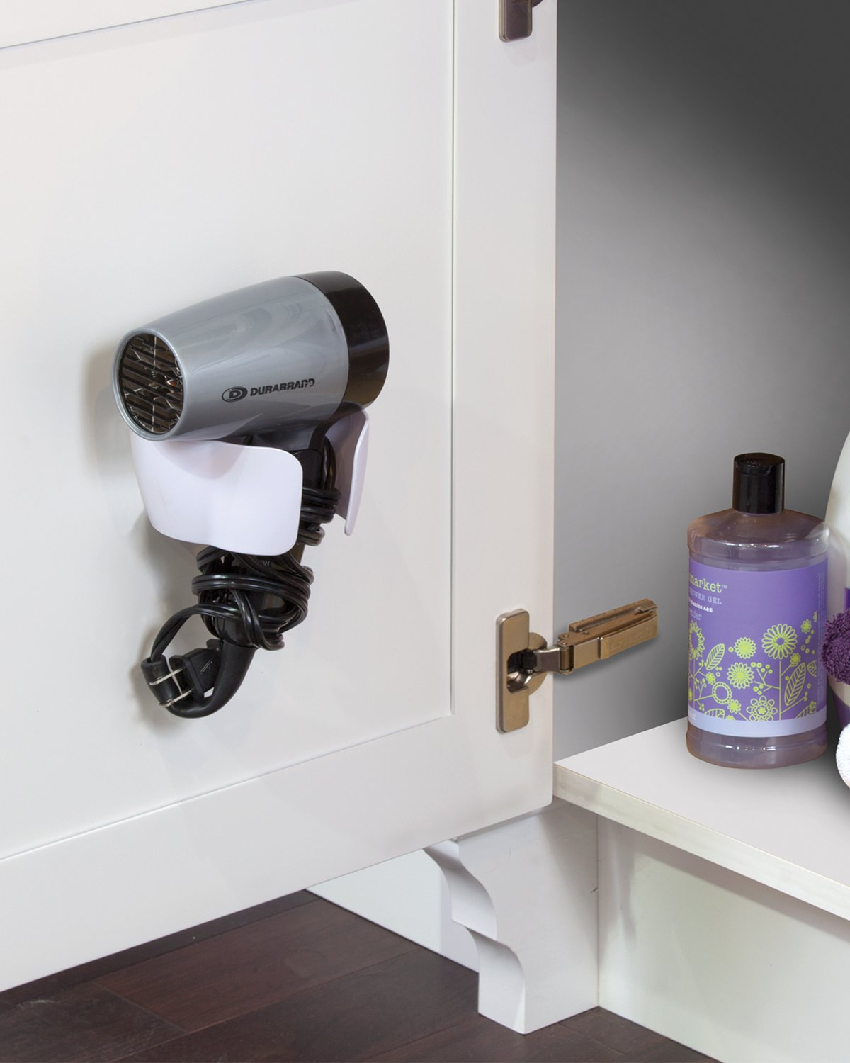 Better Living Products B.Smart Hair Dryer Holder