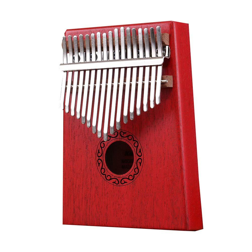 卸し売り購入 XuBa 17キー Kalimba 親指ピアノ 子供 17キー 大人 ボディ 大人 音楽 指 音楽 パーカッションキーボード レッド JJT-UsWXG0190209641EE28084 レッド B07NRRYF1B, zoee:70ca559a --- a0267596.xsph.ru