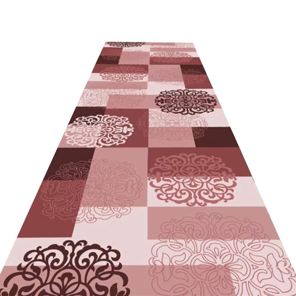 HAIPENG 廊下のカーペット入り口 敷物 ランナー ラグ にとって 滑り止め エリアラグ エントランス マット フォーマル にとって キッチン 入り口 洗える (色 : B, サイズ さいず : 1.4x6m) 1.4x6m B B07M9NRPJ1