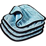 Griot's Garage 55582 PFM Dual Weave Glass Towels (Set of 4)