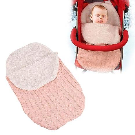 Saco de dormir para bebé saco de dormir saco de lana cochecito de dormir Colorido Recién