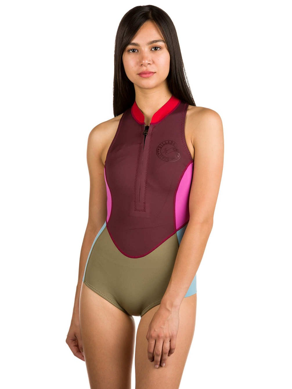 4f9e607b2f Amazon.com   Billabong Surf Capsule Sleeveless 1MM Spring Shorty Wetsuit  Mulberry - Suit up in Retro Tones and a Modern Wetsuit Cut   Sports    Outdoors