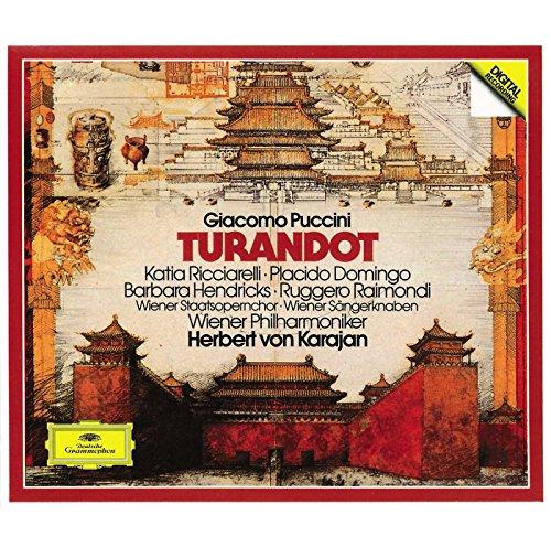 - Puccini - Turandot / Ricciarelli · Domingo · Hendricks · Raimondi · Wiener Phil. · Karajan