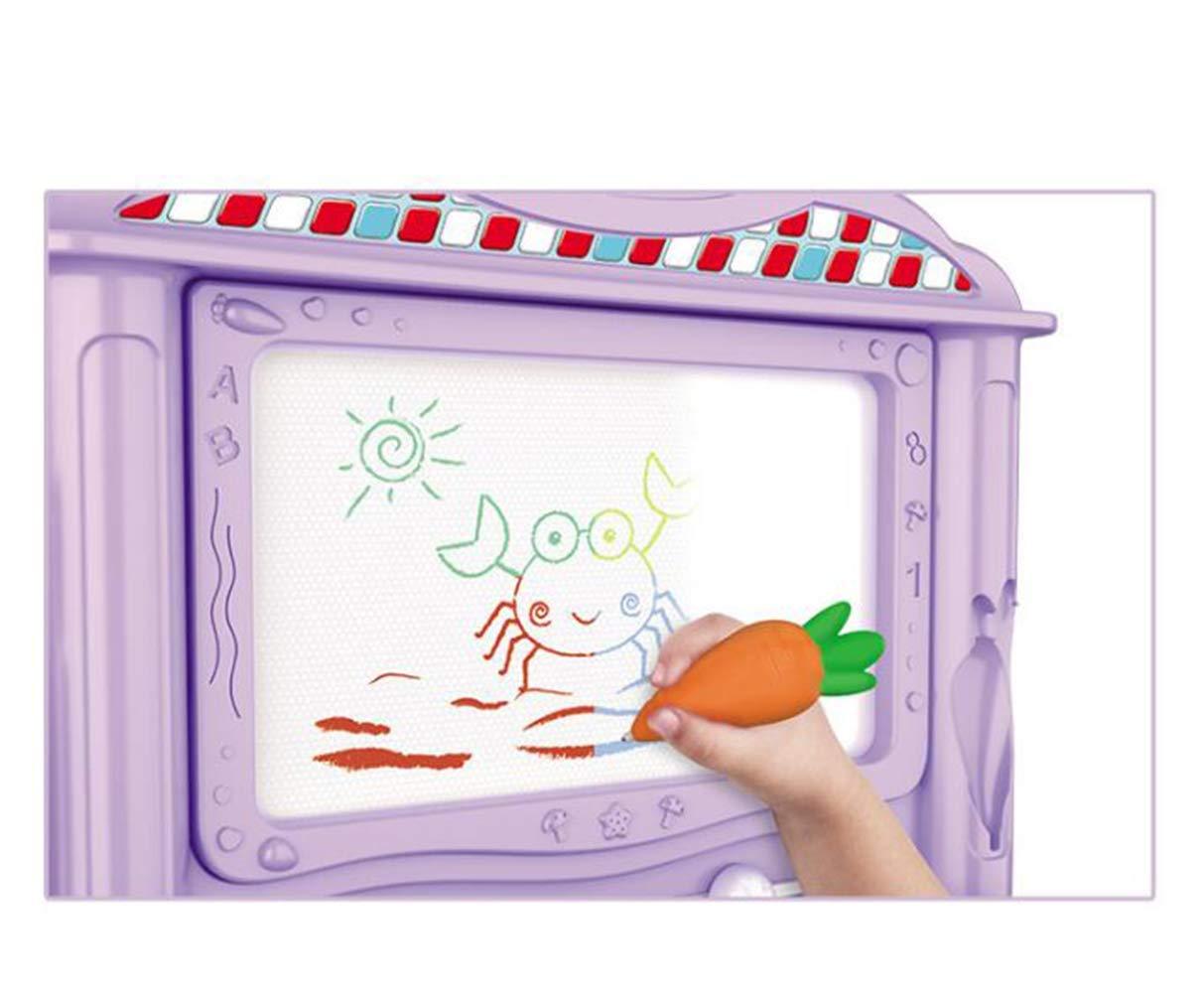 KESS InHouse Rosie Brown Welcome Spring Orange Green Fleece Baby Blanket 40 x 30