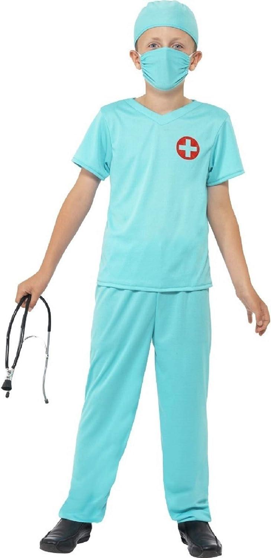 Doctor Scrubs Mens or Women/'s Fancy Dress Costume NEW E.R Surgeon