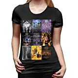 King Diamond T Shirt Women's Cotton T Shirt Fashion O Neck Tops Short Sleeve Tees