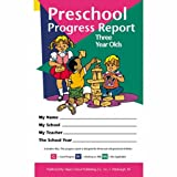 Pack of 80 Preschool Progress Reports for 3 Year
