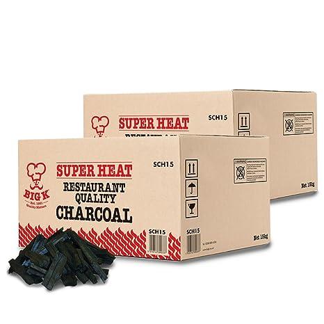 Carbón vegetal de grado supercalor en saco TheLogHut® para ...