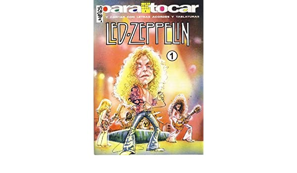 LED ZEPPELIN - Cancionero Vol.1 Letras y Acordes para Guitarra ...