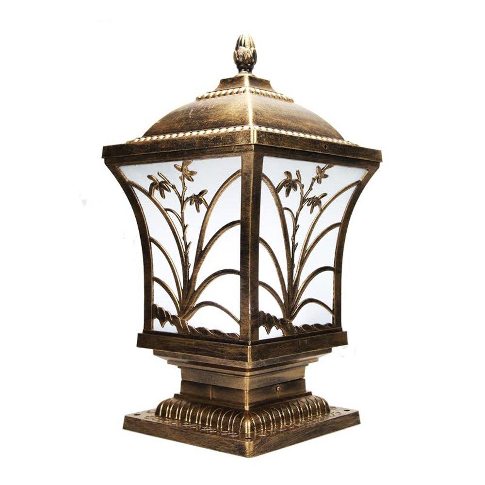 Neixy - 屋外防水壁の景色の列のヘッドライトのランタンユニークな創造的な人格の柱の照明の外観ヨーロッパのアルミヴィラの庭の入り口プールのエッジの結婚式のポストライトの装飾 (Color : Bronze 3, サイズ : 24cm) B07DDHHDW2 16925 24cm|Bronze 3 Bronze 3 24cm
