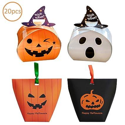 Zuzer Bolsa de Dulces de Halloween, 20pcs Bolsa de Caramelos ...