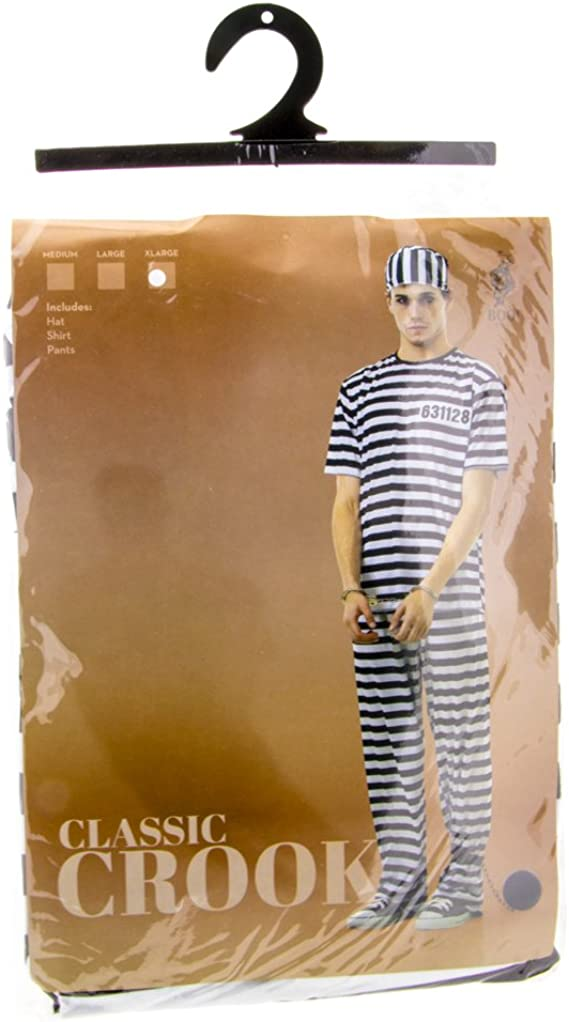 Amazon.com: Classic Crook, disfraz para Halloween, mameluco ...
