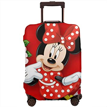 Travel Luggage Cover Cartoon Loving Puppy Cute Suitcase Protector Fits 18-20 Inch Washable Baggage Covers