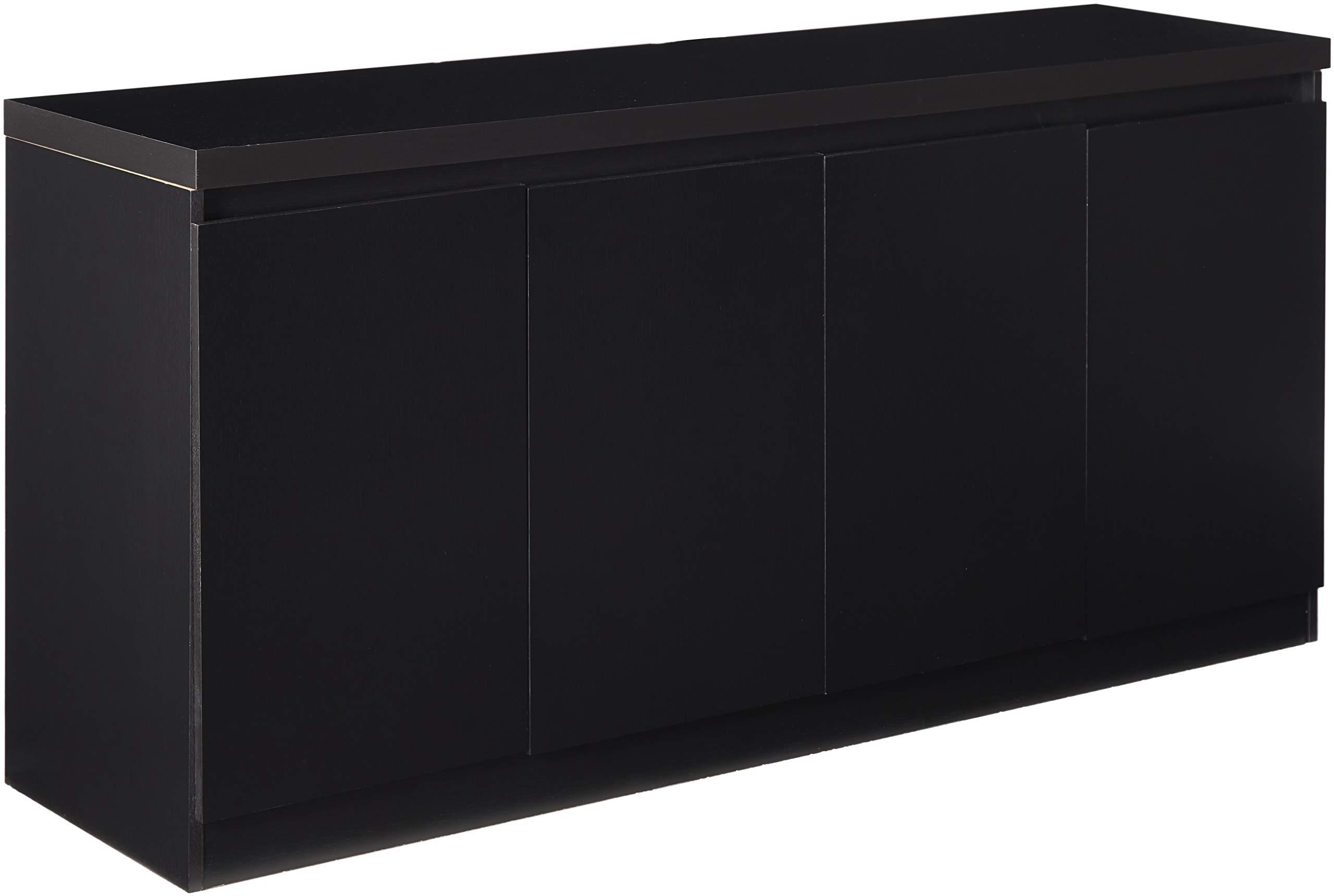 Manhattan Comforts 100653-MC Viennese Sideboard Black Matte by Manhattan Comforts (Image #1)