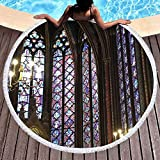 TIANMI Notre Dame Beach Towel Pool Home Shower Towels Blanket Tablecloth Yoga Mat