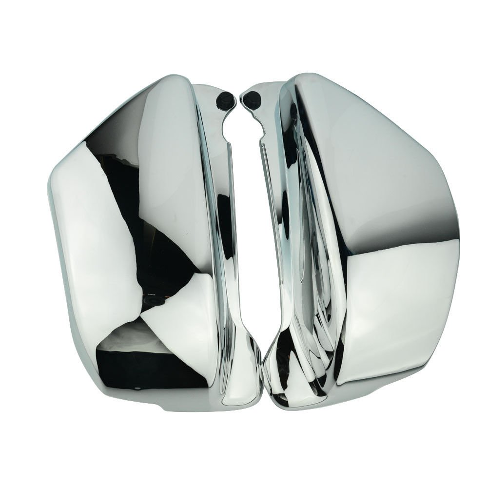Motorcycle Chrome Battery Side Fairing Covers fit For Honda Magna ...