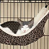 Cat hammock Plush Cushion Hammock Pet Supplies Pet Dogs and Cats Bed Warm Hammock for Dog Cat Bunnies - Rats - Hamsters - Puppy