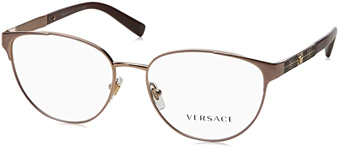 Amazon.com: Versace VE1238 Eyeglass Frames 1386-52 - 52mm Lens ...