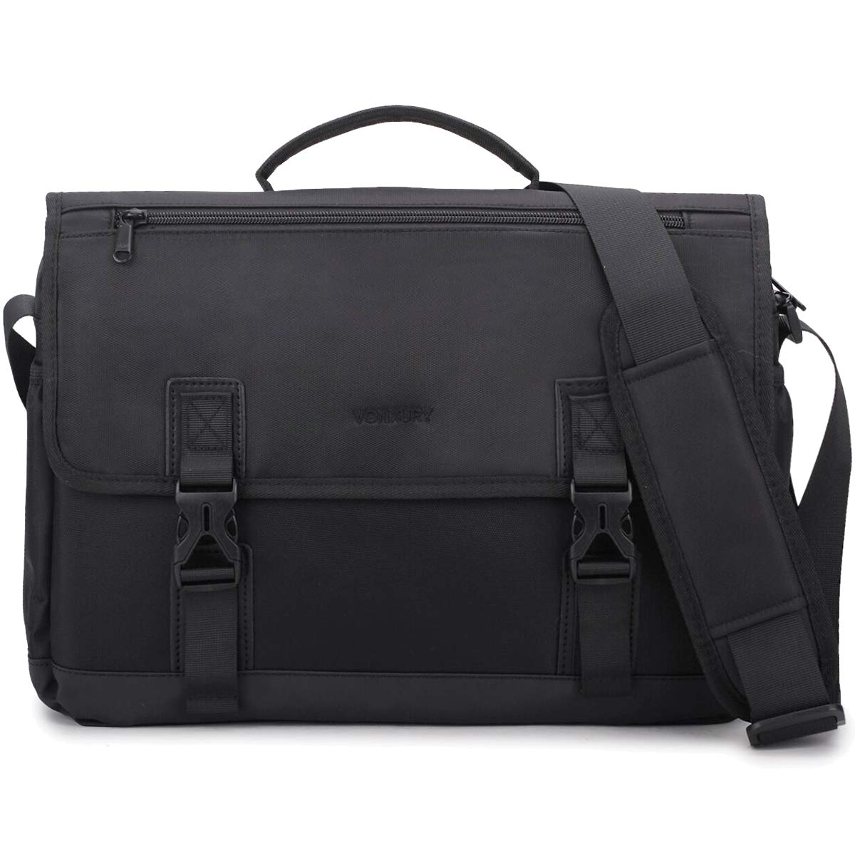 Amazon.com  Messenger Bag For Men,14in Laptop Briefcase Satchel Water  Resistant Lightweight Shoulder Bag  VX VONXURY 03db726946