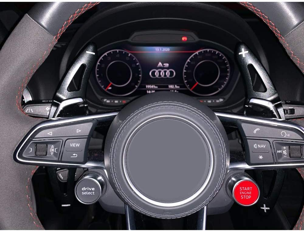 MYlnb For Audi RS3 RS4 RS5 2017 2018 R8 TT RS 2016 2017 2018,Steering Wheel Paddle shift Car Shift Paddle shift extension