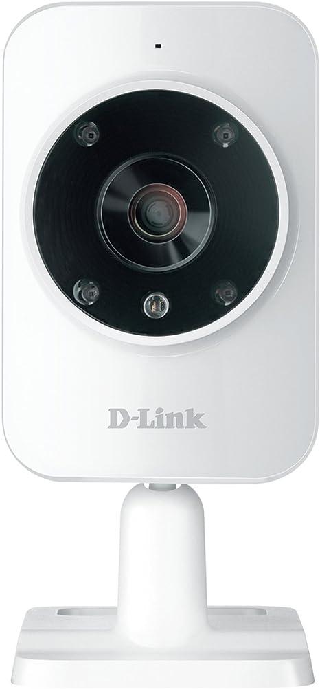 D Link Dcs 935l Wlan Überwachungskamera Schwarz Weiß Computer Zubehör