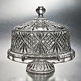 Kyпить Godinger Dublin Crystal Cake Plate with Dome Cover на Amazon.com