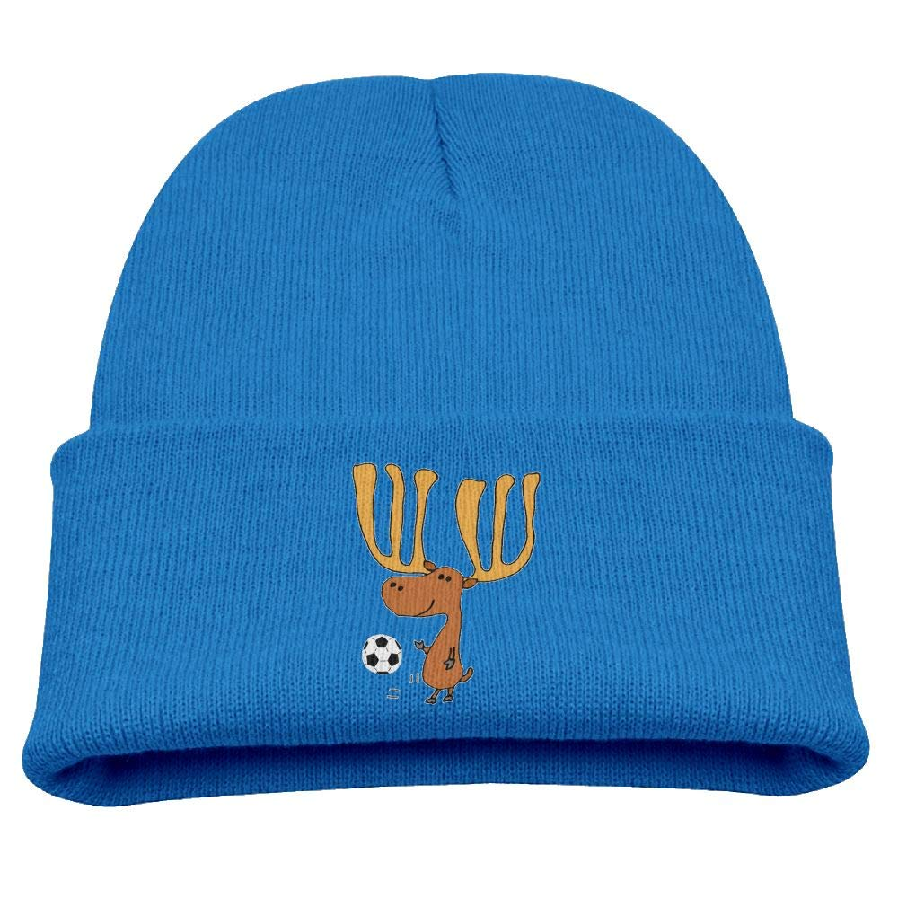 Banana King Moose Animal Baby Beanie Hat Toddler Winter Warm Knit Woolen Cap for Boys//Girls