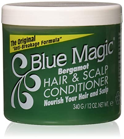 Amazon Com Blue Magic Conditioner Hair Scalp Bergamot 12 Oz Standard Hair Conditioners Beauty
