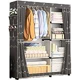 Portable Wardrobe Clothes Storage Organizer Mix Color