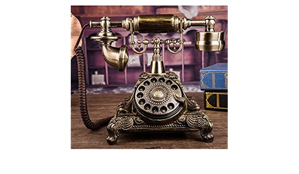 DYW-Antique phone Tocadiscos Retro Vintage con diseño de ...