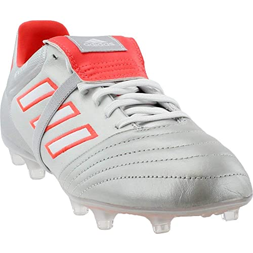 44294cacd99 adidas Copa Gloro 17.2 FG Cleat Men s Soccer 8.5 Silver  Metallic-White-Solar Red