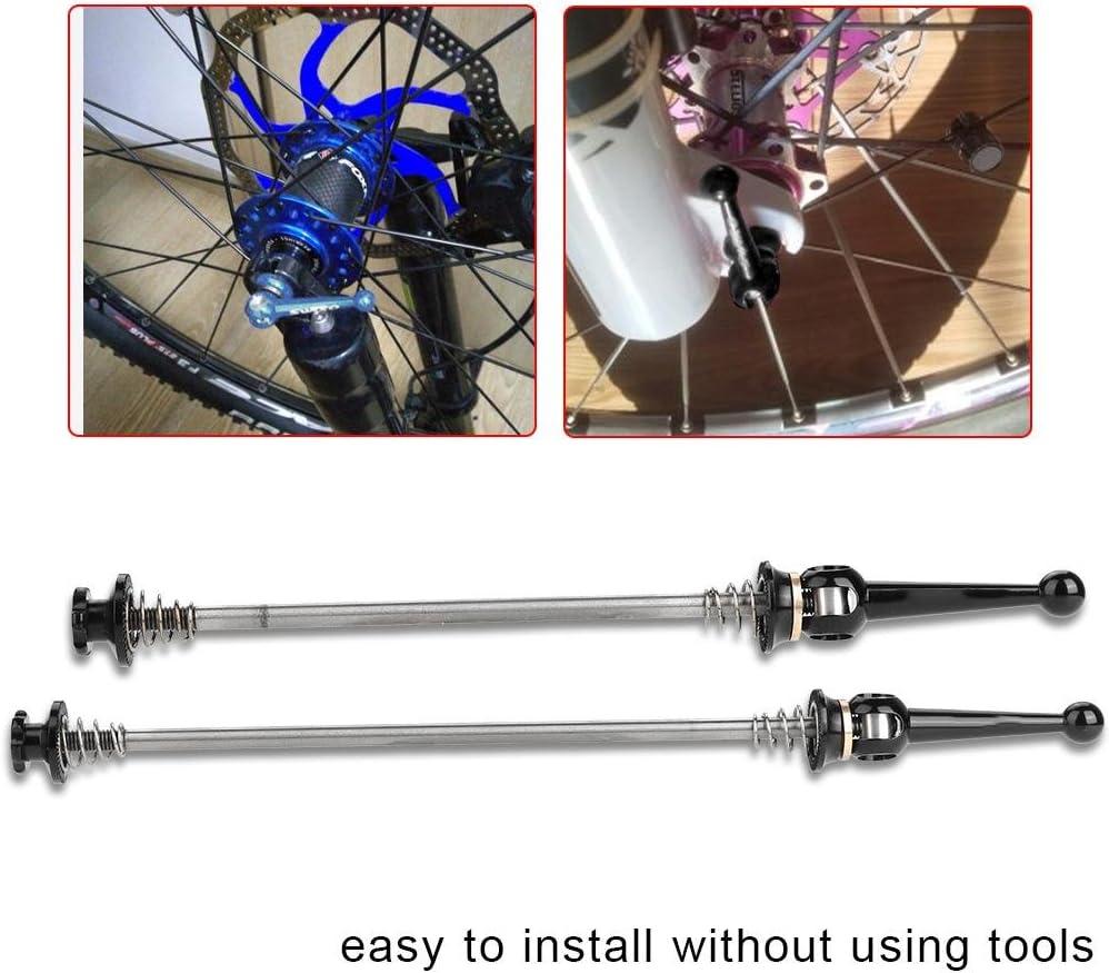 Quick Release Accessory for Bike Accessory JULYKAI Brochettes de v/élo Skewer Bike Quick Release