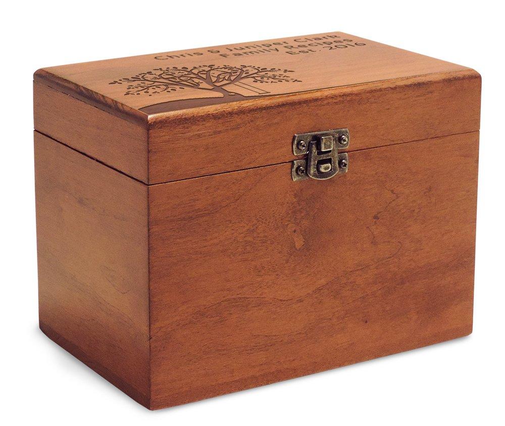 Cookbook People Cherry Recipe Box 4x6 Made in the USA (Tree Swing)