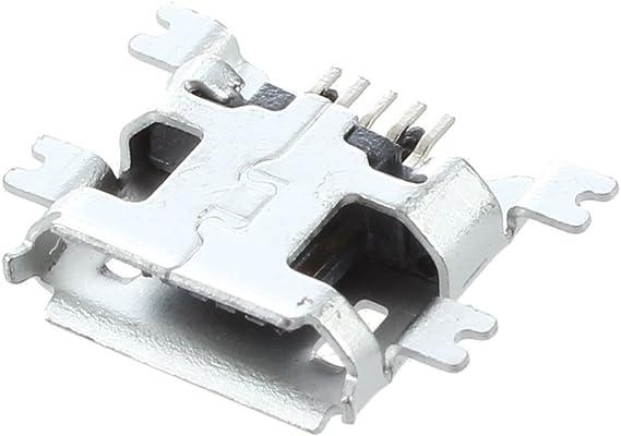 10 Stück Micro USB 5 Pin B Typ Buchse Stecker für Stecker 5 Pin Ladebuchse  KQ